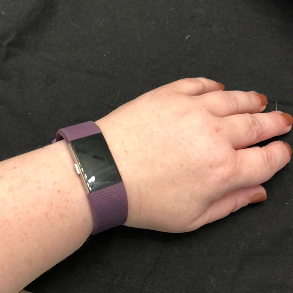 Fitbit Charge 2 (HR) band - large, purple